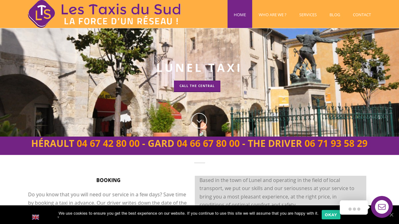 Taxi-lunel lts